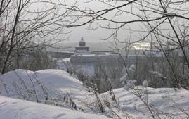 Кузнецкая крепость зимой. Фото 2006 г.