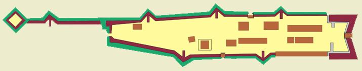 План Кузнецкой крепости